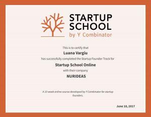 Diploma Startup School 2017 (LV)