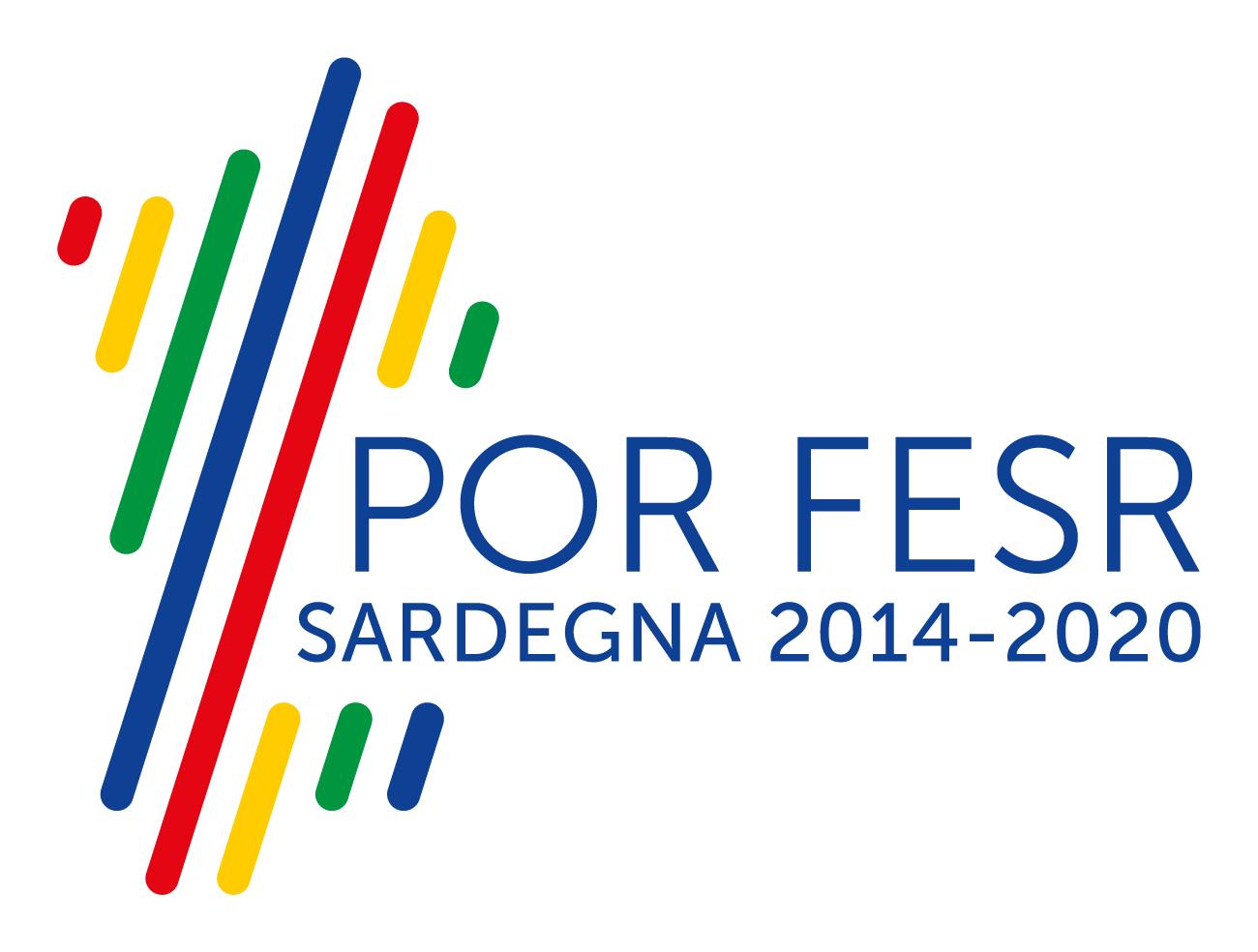 Logo del POR FESR 2014-2020 Sardegna