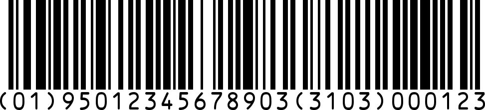 Un codice a barre GS!